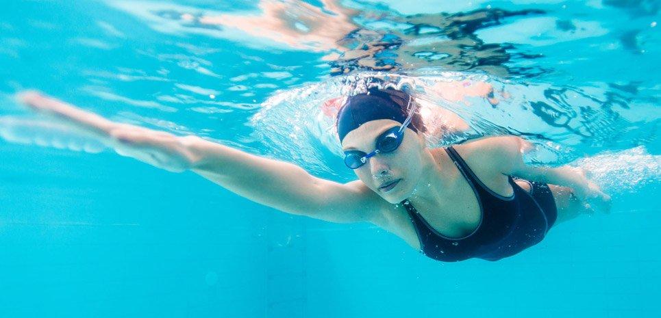 nadar después de depilacion láser