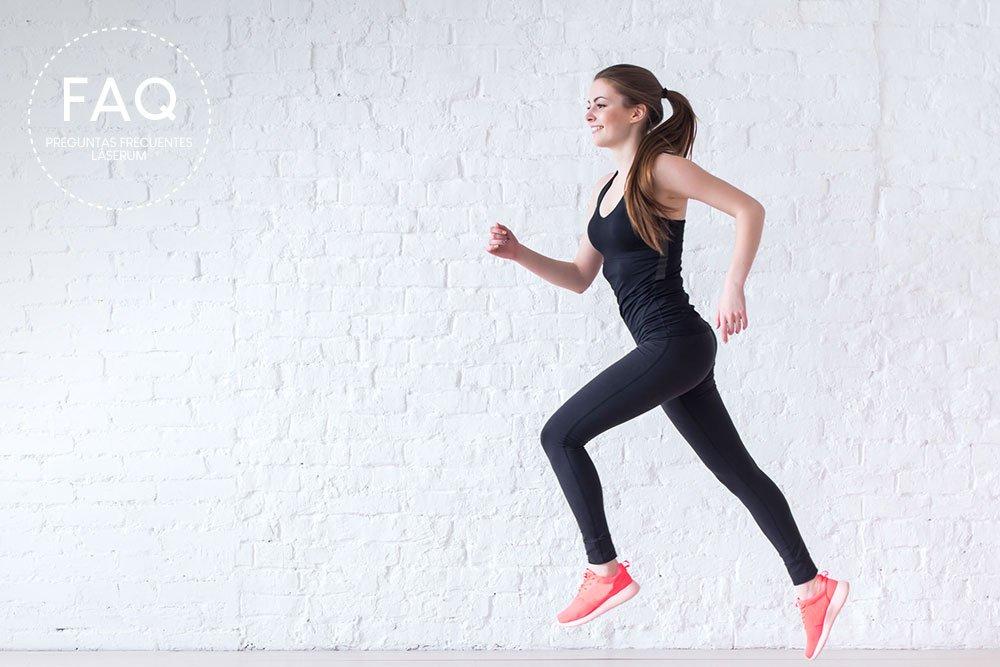 ¿Puedo practicar actividad física el mismo día de mi tratamiento de depilación láser?