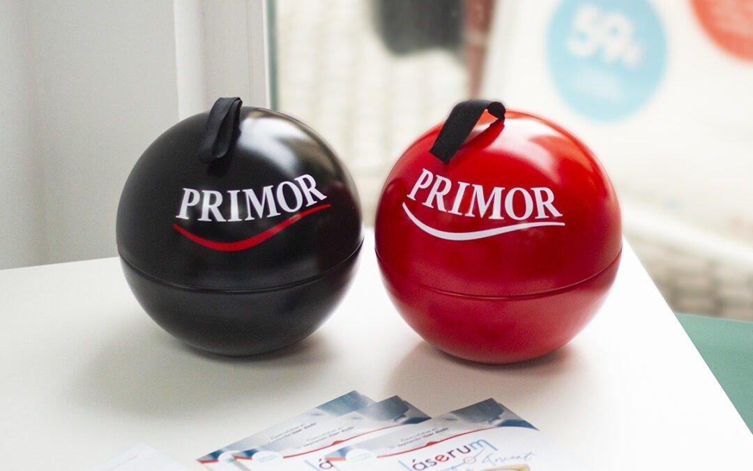 ¡Ya puedes comprar en Láserum nuestras bolas navideñas con los mejores productos de Primor!