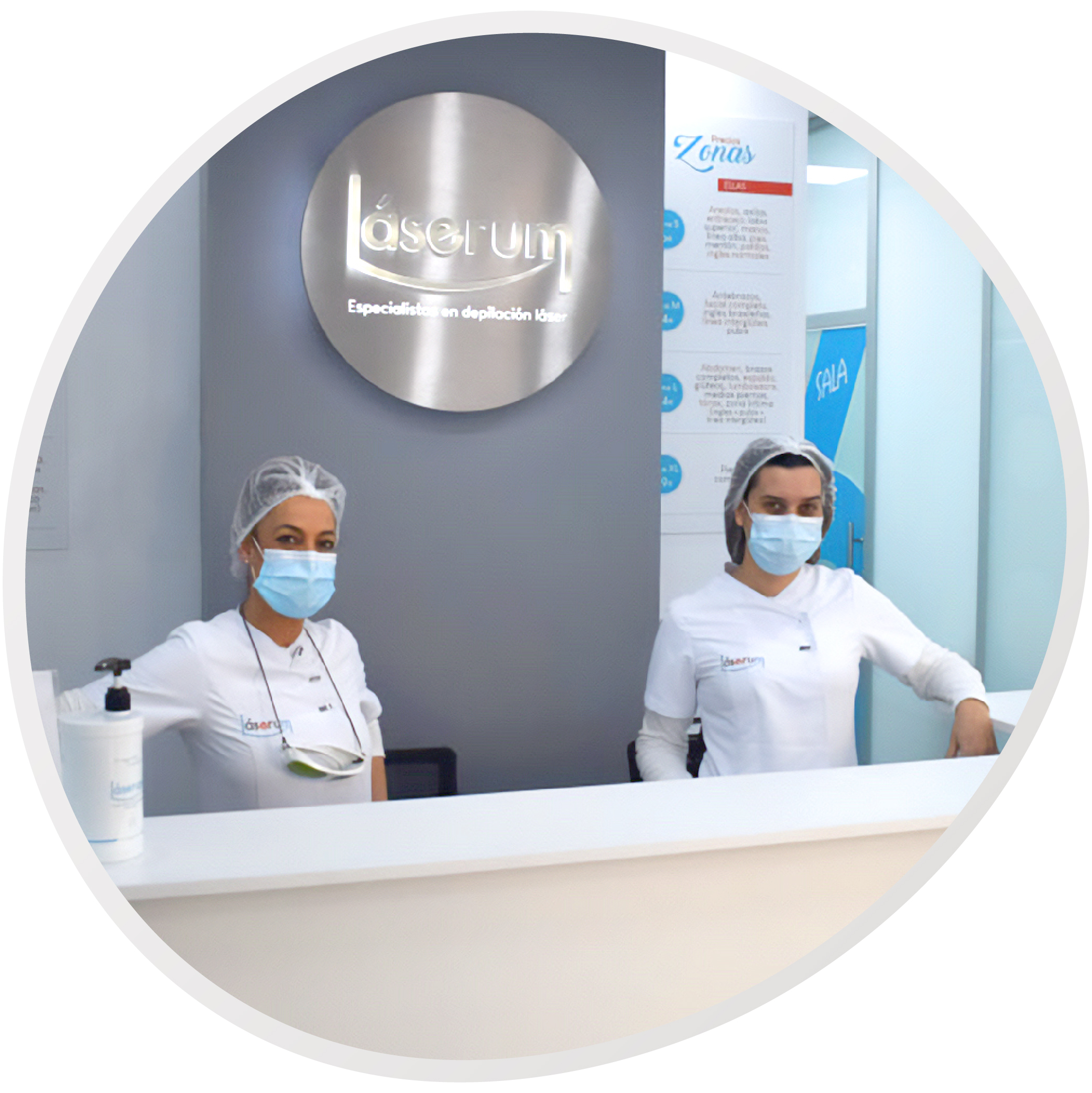 centros laserum recepcion