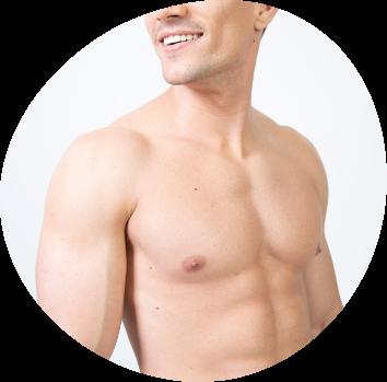 Depilación láser corporal hombres
